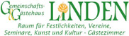 Rosenhof Marketing - Referenzen - Gast- und Gemeinschaftshaus Linden