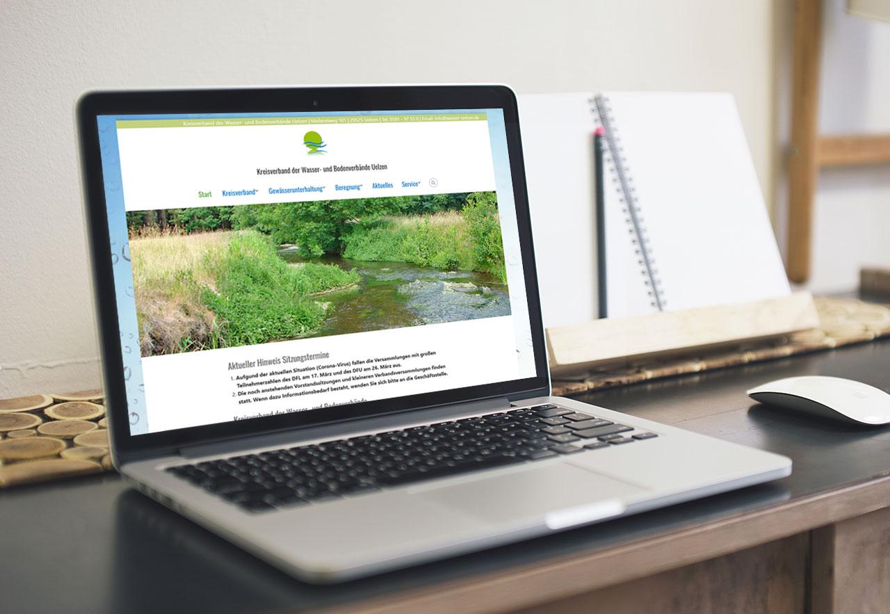 Website Wasserverband