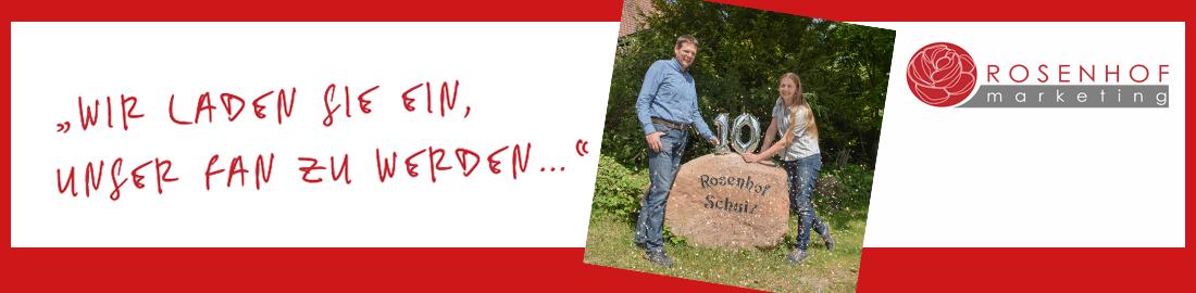 Gleich neuer Fan werden! fb.me/Rosenhof.Marketing