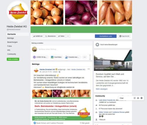 Heide-Zwiebel AG / Erzeugerorganisation für Speisezwiebeln in Kl. Süstedt
